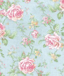 Șervețel - English Style Roses Blue - 33×33 cm