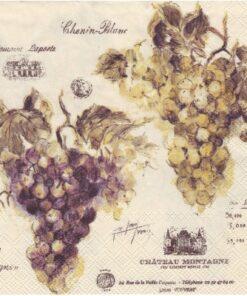Șervețel - Vin De France - 33×33 cm