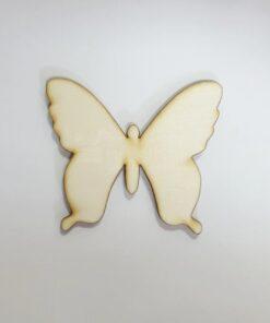 Formă Fluture - lemn - 10 cm