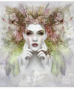 Hârtie de orez - Misterious Woman - A5