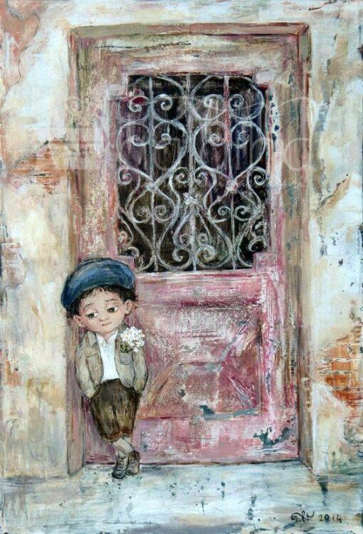 Hârtie de orez - Nino Chakvetadze - boy - A5