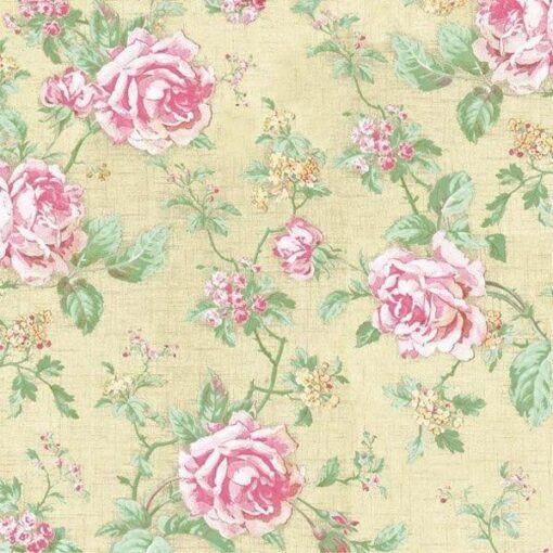 Servețel English Style Roses Ecru - 33×33 cm