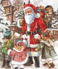 Șervețel - Ajunul Crăciunului - 33x33