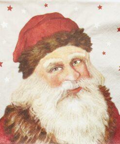 Șervețel - Moș Crăciun - 33x33 cm