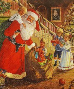 Șervețel - Noaptea De Crăciun - 33x33 cm