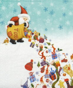 Șervețel - Santa's Rain - 33x33cm