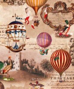 Șervețel - Vintage Ballons - 33x33