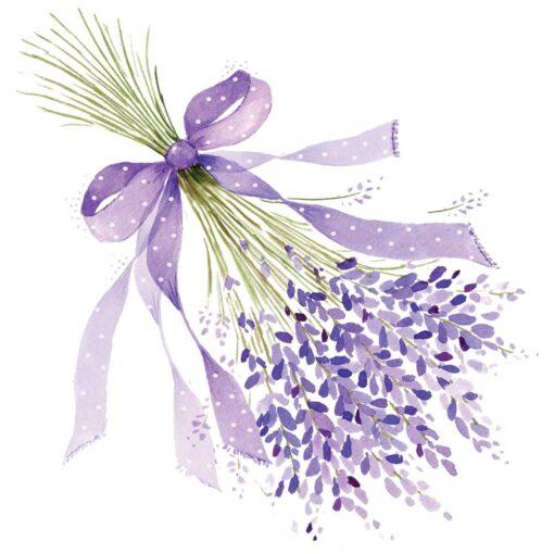 Șervețel decoupage - Lavender - 33x33 cm