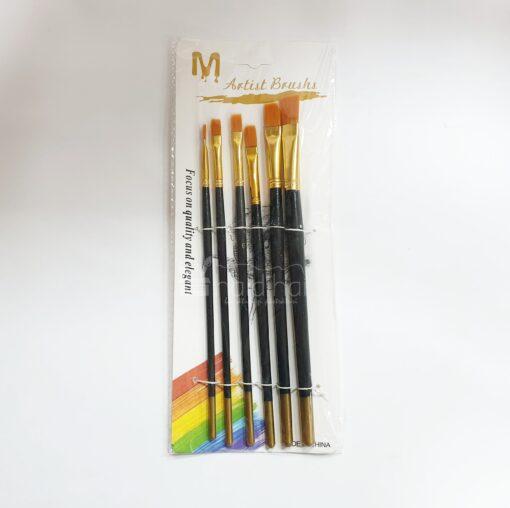 Set 6 pensule sintetice late