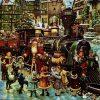 Șervețel - Veselia de Crăciun - 33x33 cm