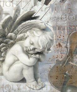 Șervețel - Silent Night - 33x33 cm