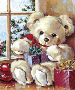 Șervețel - Teddy Bear - 33x33 cm