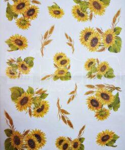 Hârtie de orez floarea soarelui – 5018 – 35X50 cm