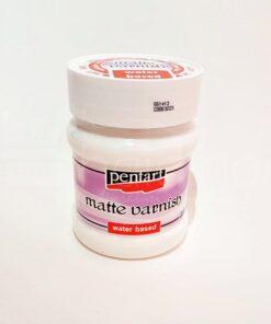 Lac mat - pe bază de apă - Pentart - 230 ml