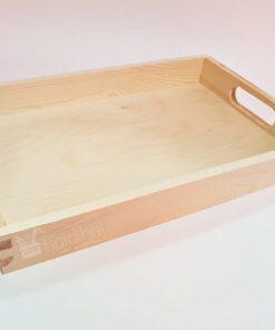 Tavă din lemn - 38,5x24,5x5 cm