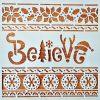 Șablon – Believe – 6969 – 20×20 cm