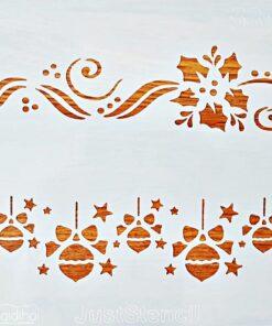 Șablon – motiv Crăciun – 5893 – 20×20 cm
