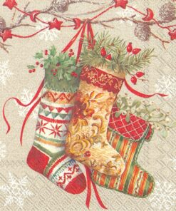 Șervețel - Decorative Stockings - 33x33 cm