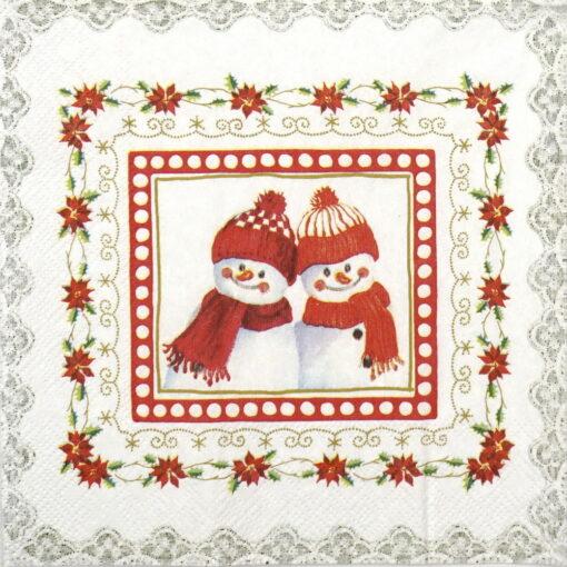 Șervețel - Lovely little Fellows- 33x33 cm