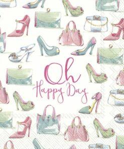 Șervețel - Oh, Happy Day - 25x25 cm