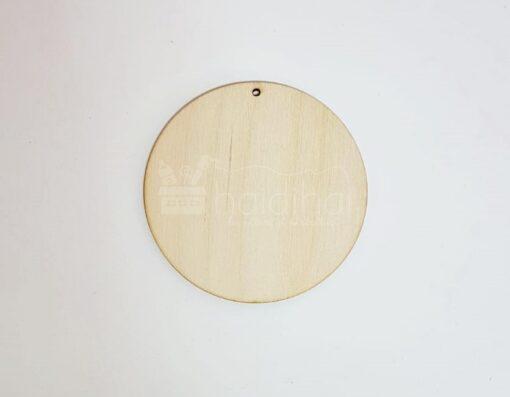 Bază lemn rotund – cercei – Ø4,2 cm
