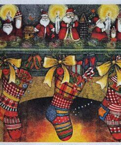 Hârtie de orez - Christmas night - A5