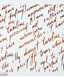 Șablon - Model scrisoare - 20x20 cm