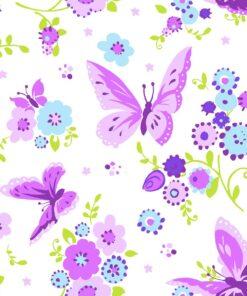 Șervețel - Beautiful butterfly - 25x25 cm