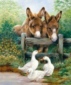 Șervețel - Meeting Friends - 33x33 cm