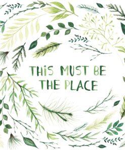 Șervețel - Must Be The Place - 33x33 cm