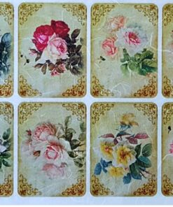 Hârtie de orez - Colorful Roses - A4