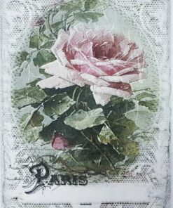Hârtie de orez - Roses Of Paris - A5
