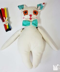 Mascote Decorelo - colorare carioci - 35 cm