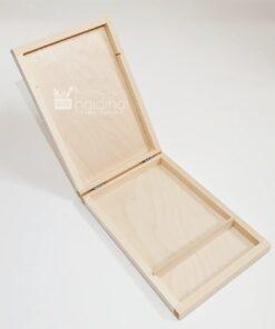 Cutie din lemn pentru CD și USB stick - 21.6x14.2 cm