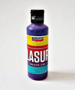 Lazura - baiț -lilac, 80 ml pentru interior