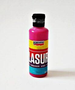 Lazura - baiț - magenta, 80 ml pentru interior
