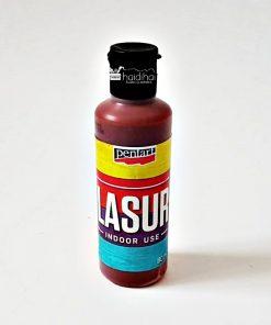 Lazura - baiț - maro, 80 ml pentru interior