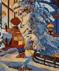 Șervețel - Beautiful Winter - 33x33 cm