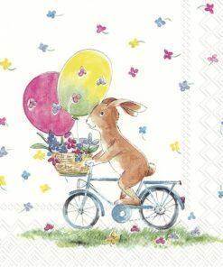 Șervețel Decoupaje - Easter Ride - 25x25 cm