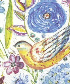 Șervețel - Funny Blue Bird - 33x33 cm