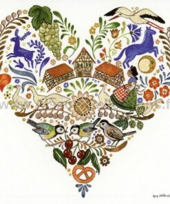 Șervețel - Hearts Of Alsace - 33x33 cm
