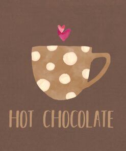 Șervețel - Hot Chocolate - 33x33 cm