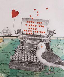 Șervețel - Just love you - 33x33 cm