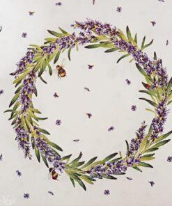 Șervețel - Lavender Wreath - 33x33 cm