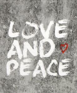 Șervețel - Love And Peace - 33x33 cm