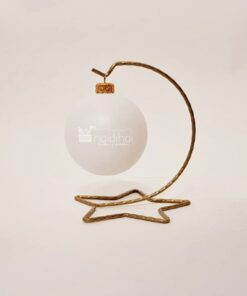 Suport metalic auriu - 14 cm