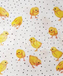 Șervețel - Chicken Fashion - 33x33 cm