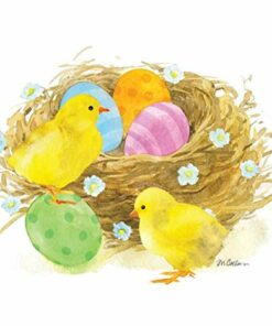 Șervețel - Chicks & Eggs - 25x25 cm