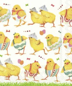 Șervețel - Chicks On Catwalk - 33x33 cm