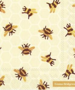 Șervețel Decoupage - Bumble Bee - 33x33 cm